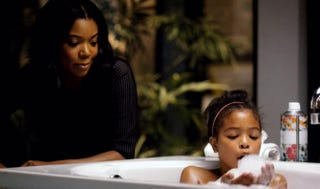 Mary Jane (Gabrielle Union) gets to play the super-cool auntie with D'Asia (Navia Ziraili Robinson) on Being Mary Jane.BET