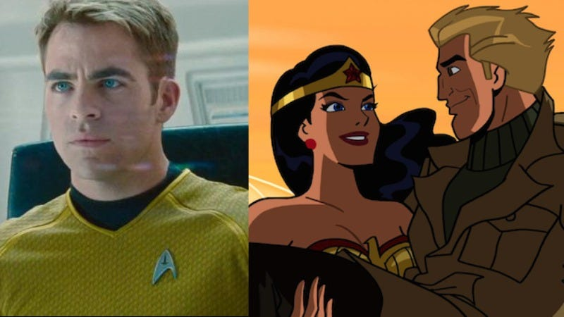 Illustration for article titled Chris Pine in talks to play Steve Trevor in the Wonder Woman movie