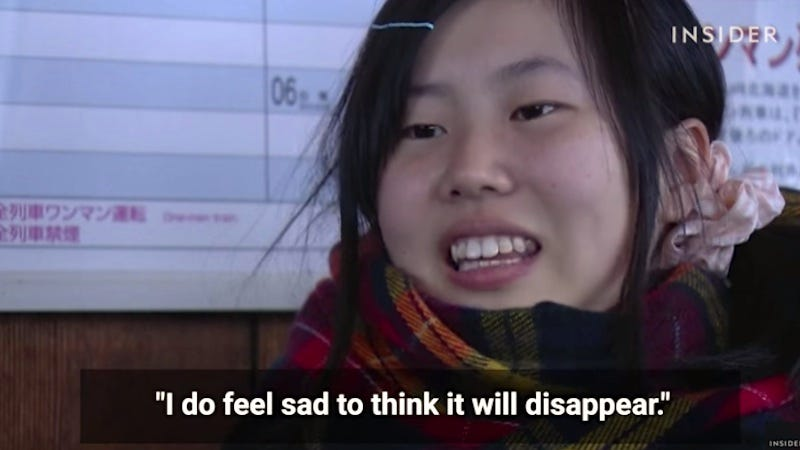 Image result for only one girl railway japan