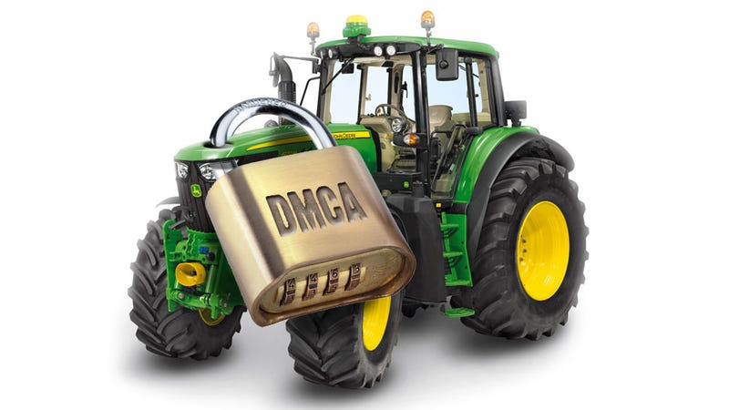 Illustration for article titled Farmers Are Still Fighting For The Right To Fix Their Own Tractors