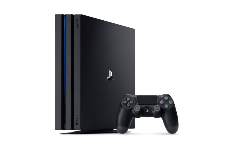 PS4 Pro and controller. Not pictured: The more-relevant-than-ever third device essential for console gaming.
