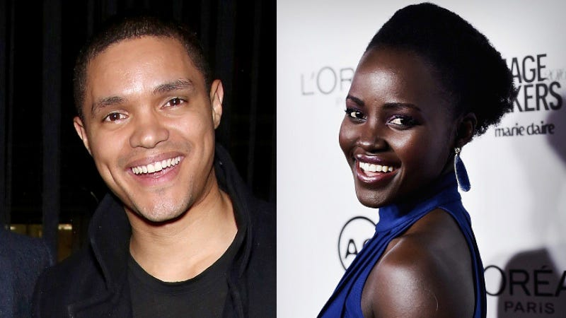 Illustration for article titled Lupita Nyong'o and Trevor Noah Revealed the Gatekeepers Maintaining Hollywood's Racist Status Quo