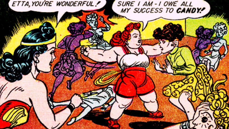 Illustration for article titled The Wonder Woman Movie Adds Etta Candy, Diana's Best Friend and a Total Badass