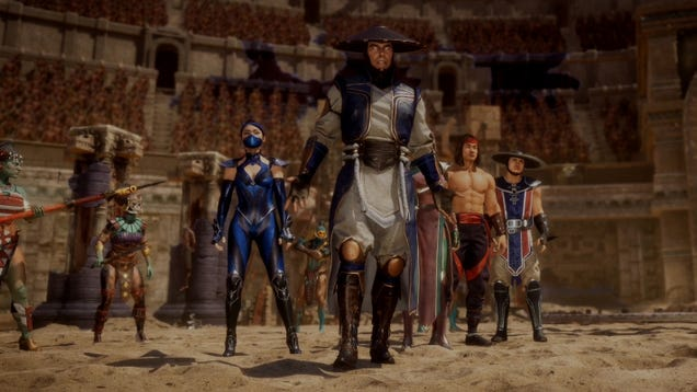 Image result for mortal kombat 11 story mode