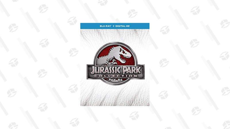 Colección 4 películas de Jurassic Park | $20 | AmazonGráfico: Chelsea Stone