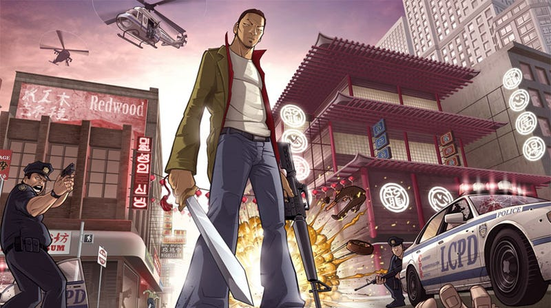 Illustration for article titled When Chinatown Wars Fan Art Looks Better Than The Real Thing