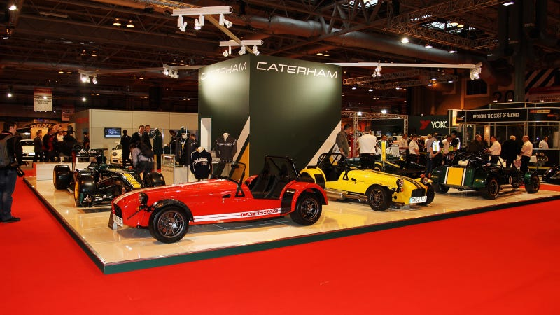 Illustration for article titled Caterham Announces Show-Stopping Line Up For 2014 Autosport International Show