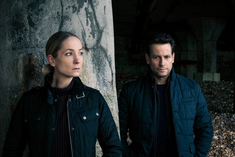 Joanne Froggatt and Ioan Gruffudd in Liar (Photo: Joss Barratt/Two Brothers Pictures/ITV/SundanceTV)