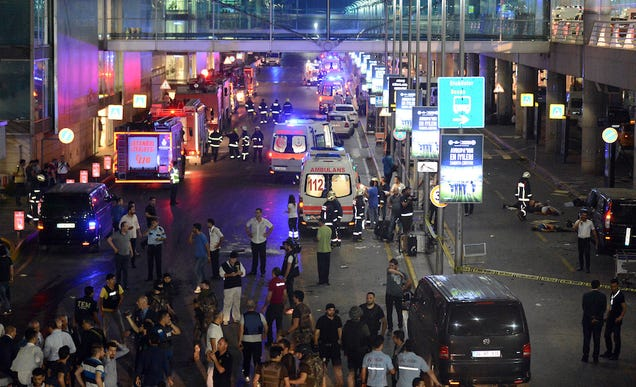 At Least 28 Dead, 60 Wounded After Suicide Bombers Detonate Explosives At Istanbul Airport