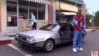 Goldie Wilson travels in time to 2015 in this Back to the Future parody.YouTube