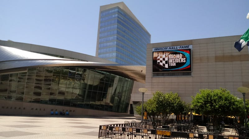 Illustration for article titled Im hittin the NASCAR hall o fame today.
