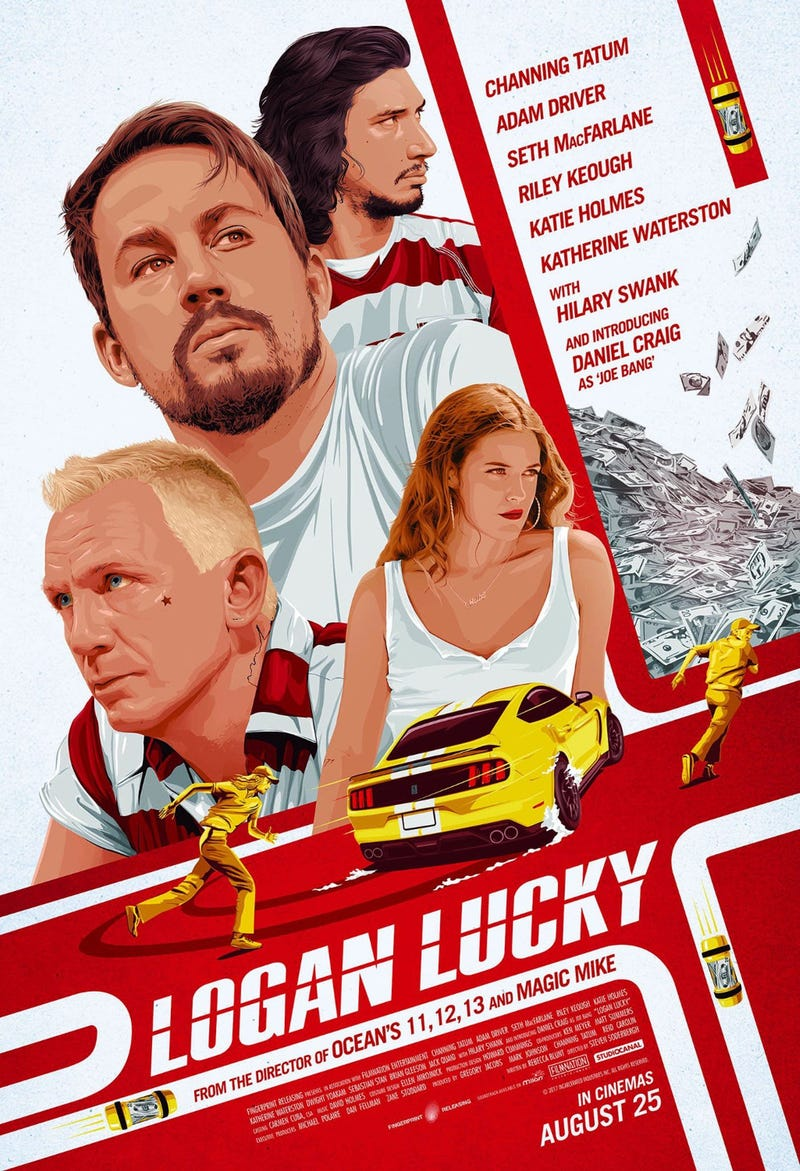Illustration for article titled Finished watching Logan Lucky