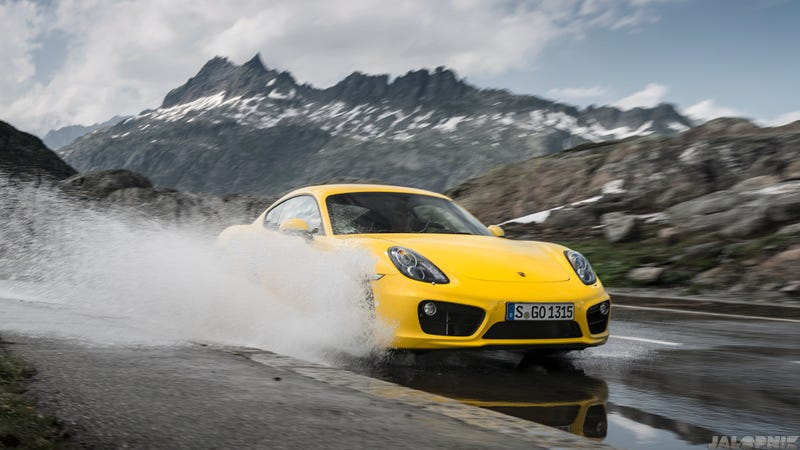 Illustration for article titled These are the most gorgeous photos of a Porsche Cayman you'll ever see