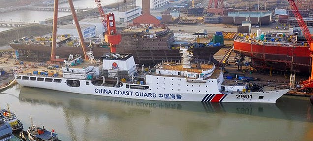 """Why China Is Building The World's Largest """"Coast Guard"""" Cutter"""