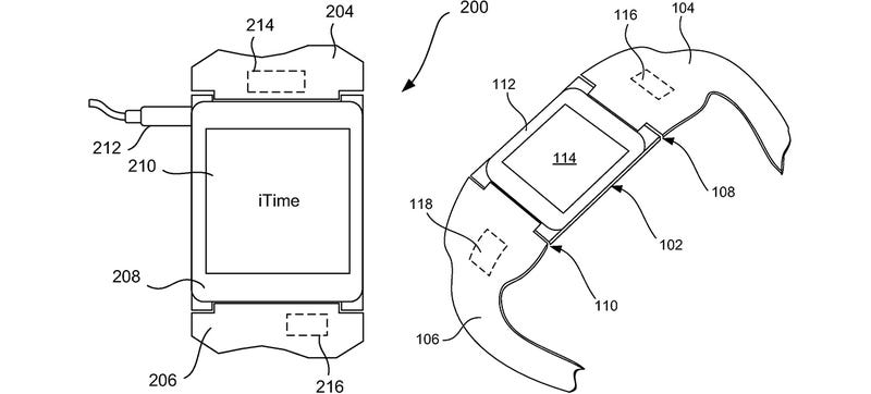 Illustration for article titled iTime: Smartwatch Patent Shows Apple's Broad Ambitions