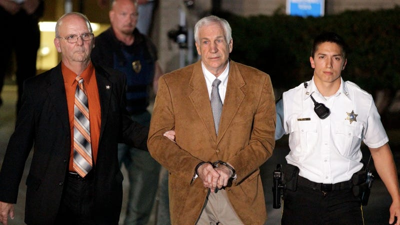Illustration for article titled Jerry Sandusky Sentenced to 30-60 Years in Prison, Still Won't Admit He's a Child Rapist