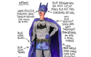 Illustration for article titled Easy Cosplay Ideas Using Everyday Stuff