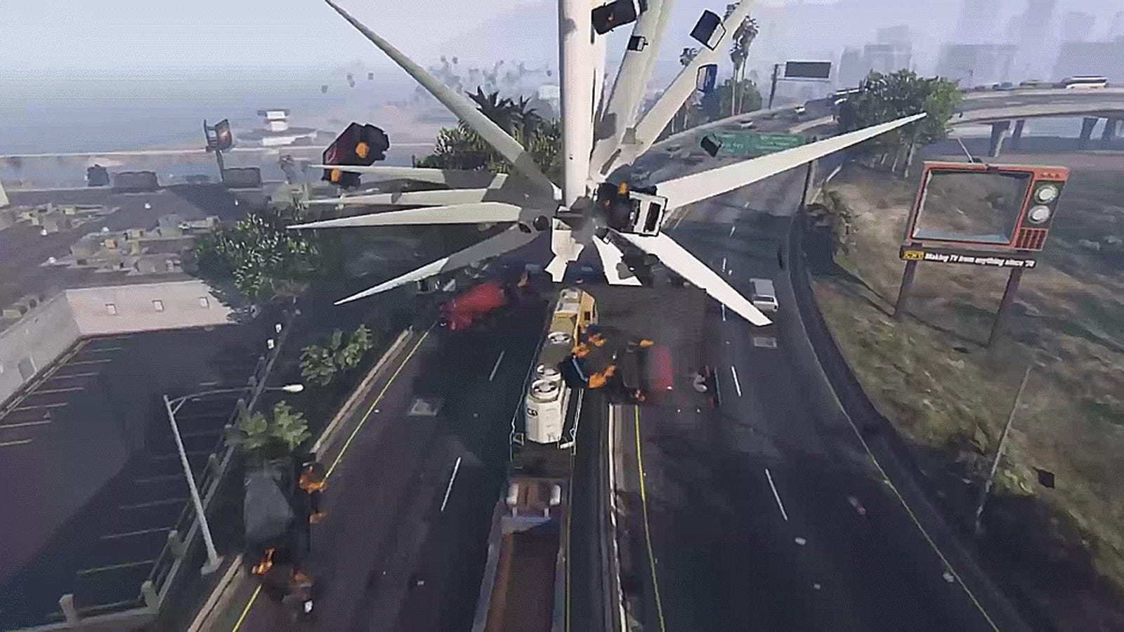 GTA V Players Are Turning Wind Turbines Into Weapons Of ...