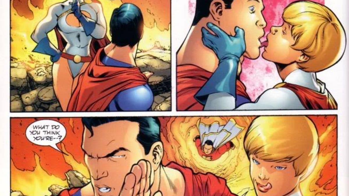 Teen Titans sexe fanfiction meilleure position pour essayer le sexe anal
