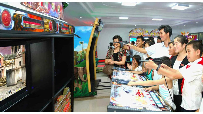 Illustration for article titled Inside North Korea's Newest Video Game Arcade