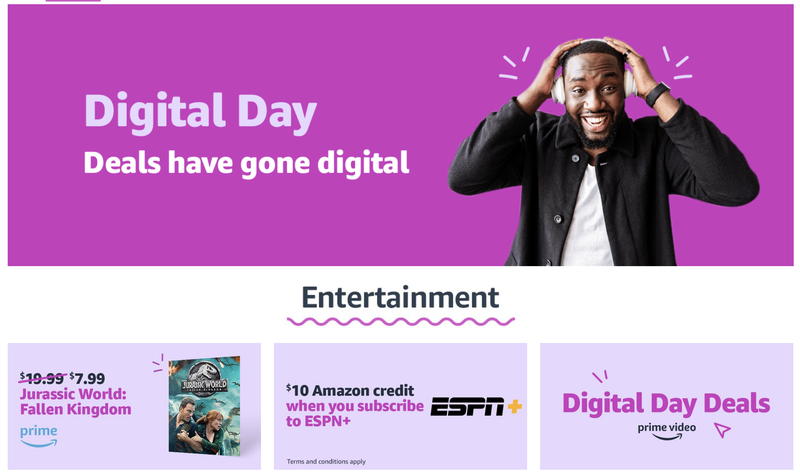 Amazon Digital Day 2018