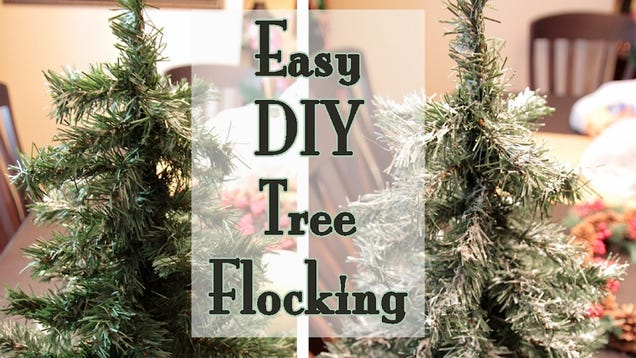 Create One-Ingredient Fake Snow For Christmas Trees With