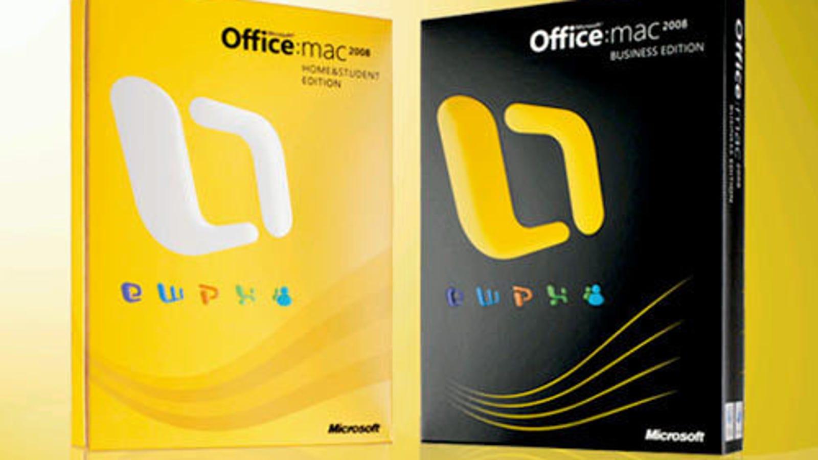buy Office 2010 for mac