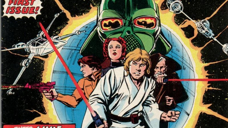 Illustration for article titled A really long time ago, Marvel played fast and loose with Star Wars