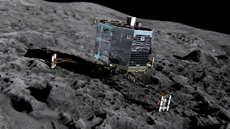 Illustration for article titled Ground Control Has Finally Given Up on the Philae Lander