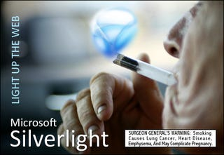 Illustration for article titled Silverlight Cracks Up The Web