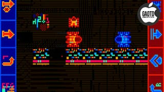 Illustration for article titled Glitch Tank Cleverly Turns Your iPad into a 8-Bit Board Game Battlefield