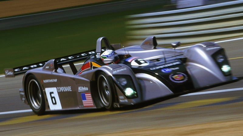 A Cadillac LMP-02 at Le Mans in 2002.