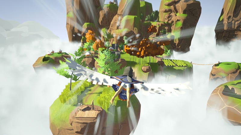 Illustration for article titled It's Kinda Like The Wind Waker, But With Flying