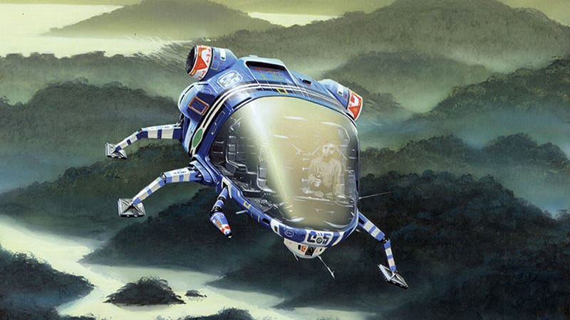 The Word for World is Forest, cover illustration by Peter Elson