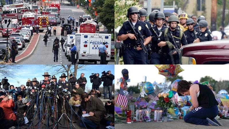 "Visibly distressed citizens nationwide say they now enjoy seeing pictures like this, and ""Yup, we've come around now; shootings are great."""