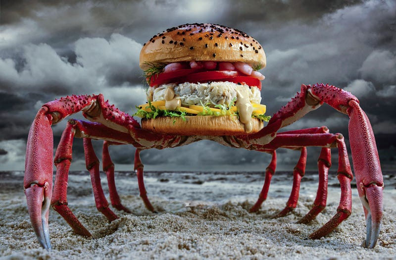 Illustration for article titled These unreal burgers may be inedible but I want to eat them all anyway