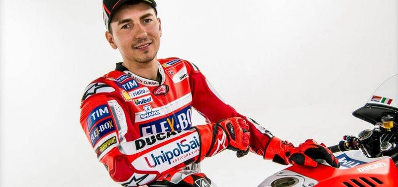 Illustration for article titled Oh holy fuck Jorge Lorenzo just signed with Honda