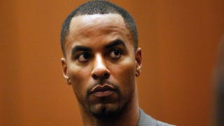 Former NFL safety Darren Sharper in a Los Angeles Superior courtroom Feb. 20, 2014Bob Chamberlin-Pool/Getty Images