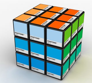Illustration for article titled Pantone Rubik's Cube: Color Matching For Nerds
