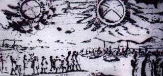Illustration for article titled Xbox 360 Logo Spotted in 1697 UFO Sighting Sketch