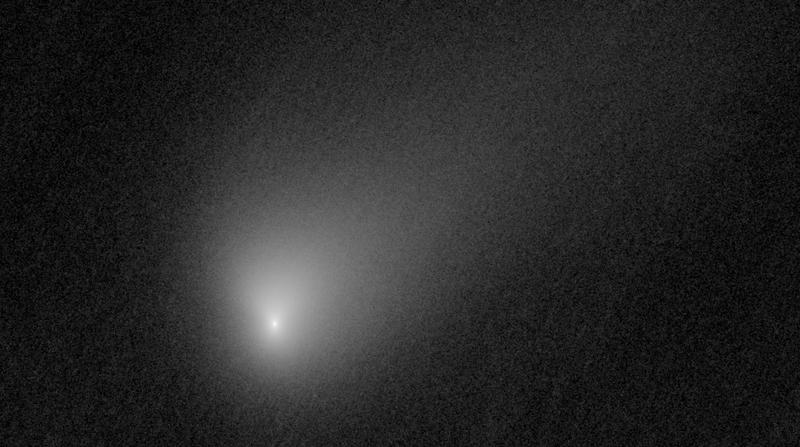 Comet 2I/Borisov, as imaged by Hubble.