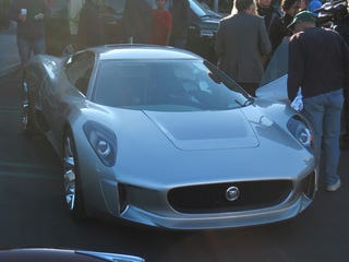 Illustration for article titled Jaguar C-X75 Cars and Coffee Gallery