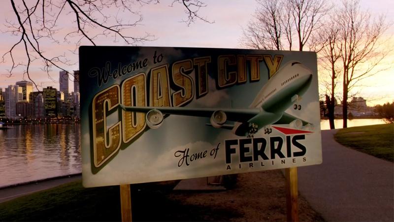 Coast City, making a cameo appearance in Arrow.