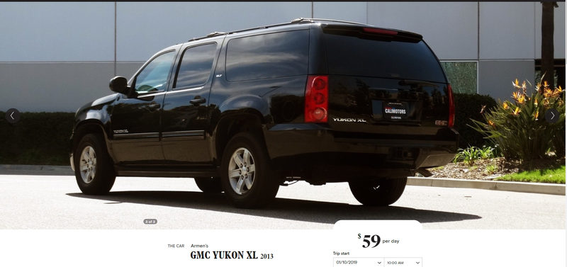 Illustration for article titled Now I am renting a GMC Yukon XL instead, typical Turo problems..