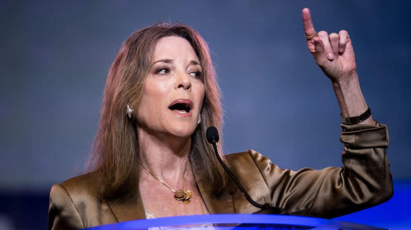 Illustration for article titled It is time, once again, to reckon with presidential candidate and meme-warrior Marianne Williamson