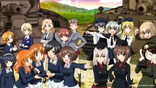Illustration for article titled The second movie of Girls und Panzer Das Finale will premiere in June 2019