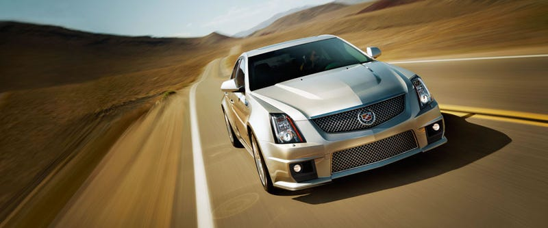Illustration for article titled So the current-gen CTS-V is soldiering on for another model year.
