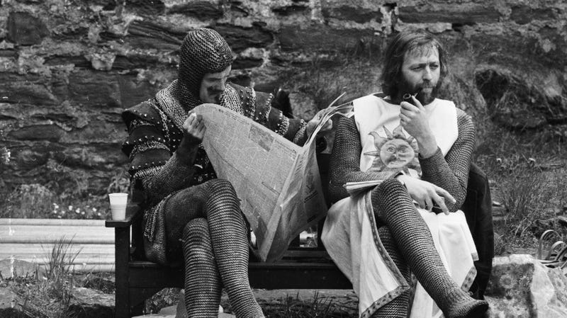Illustration for article titled A bunch of lost Monty Python sketches have been discovered