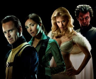 Illustration for article titled High res shots of the X-Men: First Class cast have us seriously worried