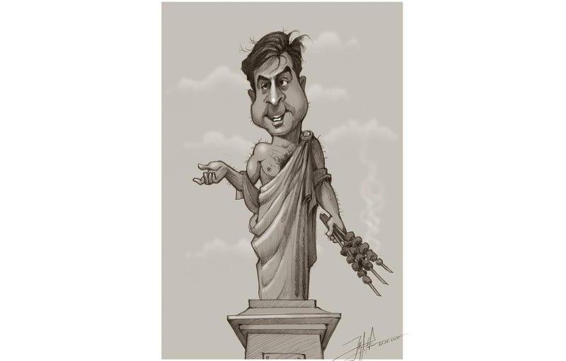 "Illustration for article titled ""Idegenlégiós"" grúzok Ukrajnában"